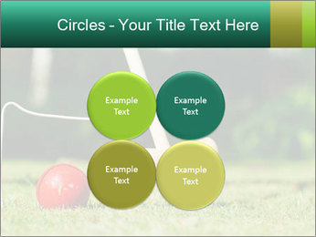 Croquet in the garden PowerPoint Templates - Slide 38