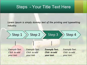 Croquet in the garden PowerPoint Templates - Slide 4