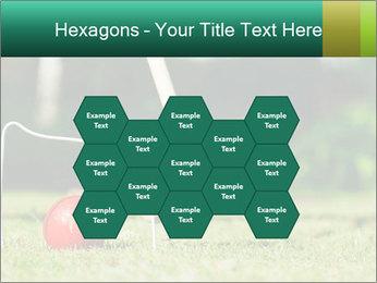 Croquet in the garden PowerPoint Templates - Slide 44