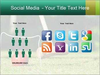 Croquet in the garden PowerPoint Templates - Slide 5