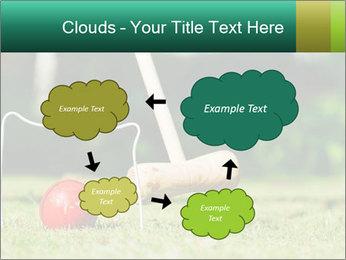 Croquet in the garden PowerPoint Templates - Slide 72