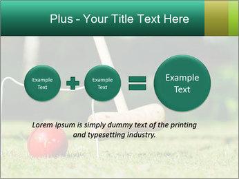 Croquet in the garden PowerPoint Templates - Slide 75