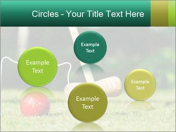 Croquet in the garden PowerPoint Templates - Slide 77