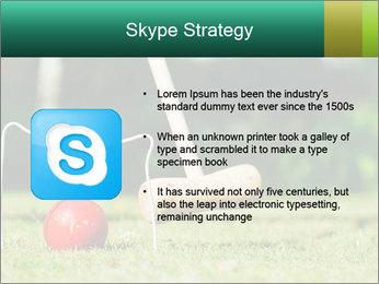 Croquet in the garden PowerPoint Templates - Slide 8