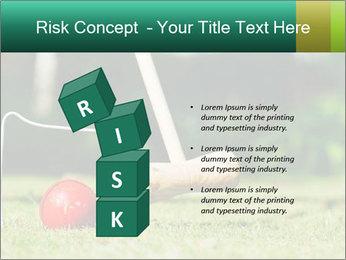 Croquet in the garden PowerPoint Templates - Slide 81