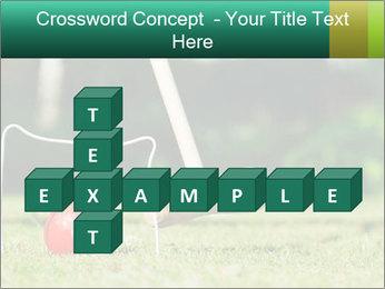 Croquet in the garden PowerPoint Templates - Slide 82