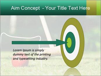 Croquet in the garden PowerPoint Templates - Slide 83