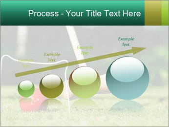 Croquet in the garden PowerPoint Templates - Slide 87
