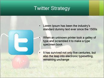 Croquet in the garden PowerPoint Templates - Slide 9