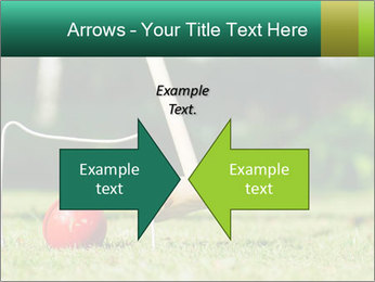 Croquet in the garden PowerPoint Templates - Slide 90