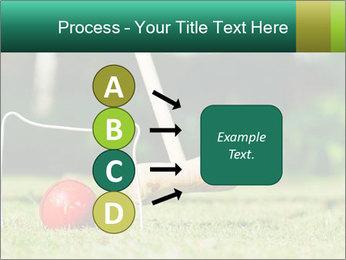 Croquet in the garden PowerPoint Templates - Slide 94