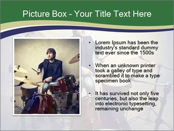 Young musician PowerPoint Template - Slide 13