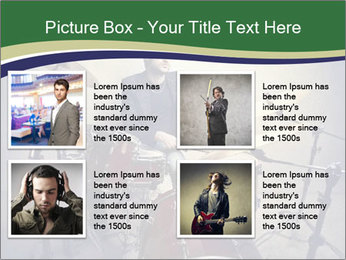 Young musician PowerPoint Template - Slide 14