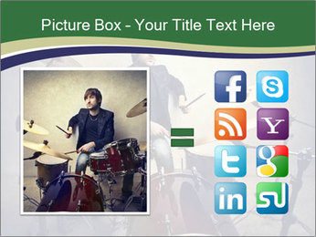 Young musician PowerPoint Template - Slide 21