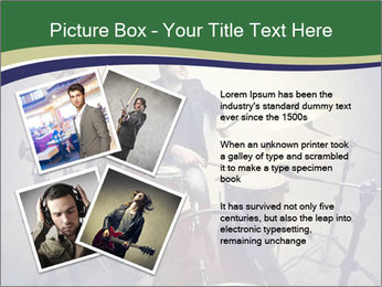 Young musician PowerPoint Template - Slide 23