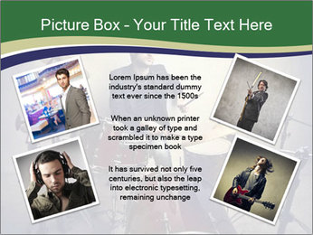 Young musician PowerPoint Template - Slide 24