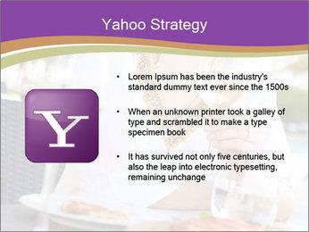 Woman Enjoying PowerPoint Templates - Slide 11