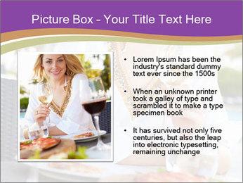 Woman Enjoying PowerPoint Templates - Slide 13