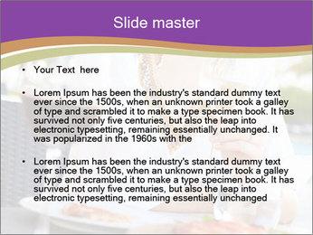 Woman Enjoying PowerPoint Templates - Slide 2