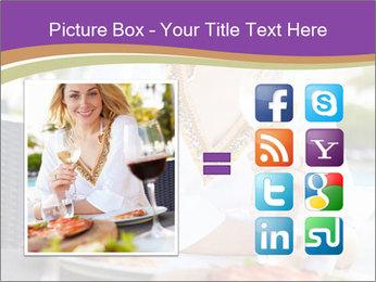Woman Enjoying PowerPoint Templates - Slide 21