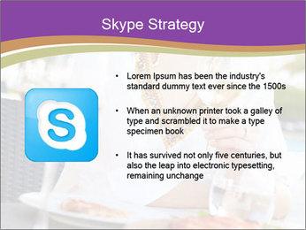 Woman Enjoying PowerPoint Templates - Slide 8