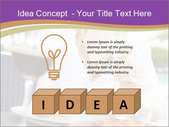 Woman Enjoying PowerPoint Templates - Slide 80