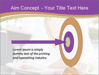 Woman Enjoying PowerPoint Templates - Slide 83