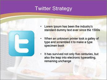 Woman Enjoying PowerPoint Templates - Slide 9