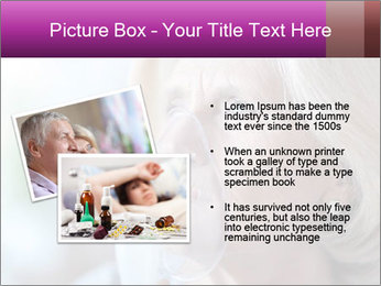 Woman making inhalation PowerPoint Templates - Slide 20