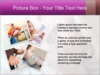 Woman making inhalation PowerPoint Templates - Slide 23