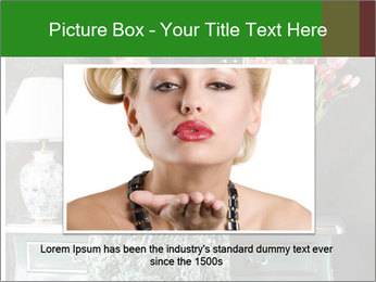 Beautiful Glamorous Woman PowerPoint Templates - Slide 15