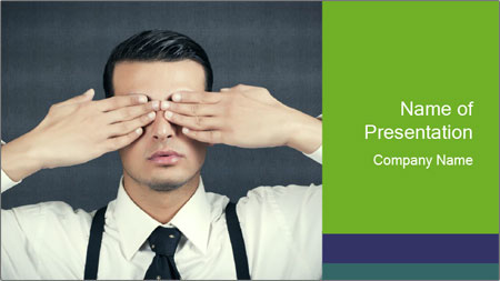 See no Evil PowerPoint Template