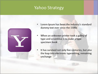 Young businesswoman PowerPoint Templates - Slide 11
