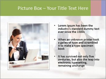 Young businesswoman PowerPoint Templates - Slide 13