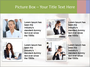 Young businesswoman PowerPoint Templates - Slide 14