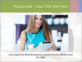 Young businesswoman PowerPoint Templates - Slide 15