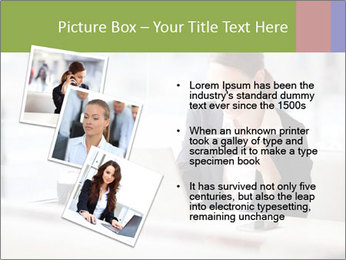 Young businesswoman PowerPoint Templates - Slide 17