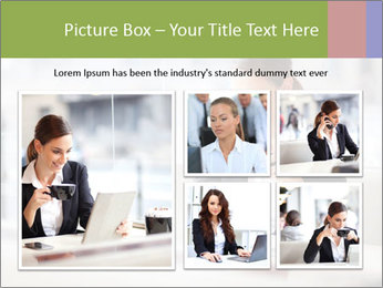 Young businesswoman PowerPoint Templates - Slide 19