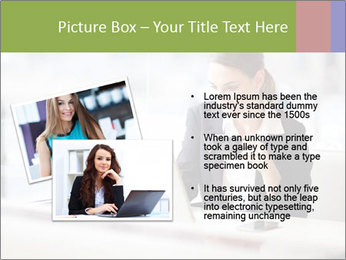 Young businesswoman PowerPoint Templates - Slide 20