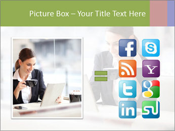 Young businesswoman PowerPoint Templates - Slide 21