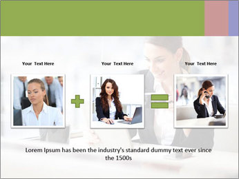 Young businesswoman PowerPoint Templates - Slide 22