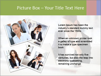 Young businesswoman PowerPoint Templates - Slide 23