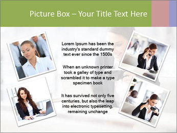 Young businesswoman PowerPoint Templates - Slide 24