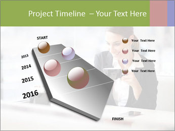 Young businesswoman PowerPoint Templates - Slide 26