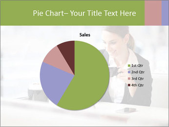 Young businesswoman PowerPoint Templates - Slide 36