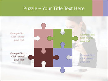 Young businesswoman PowerPoint Templates - Slide 43