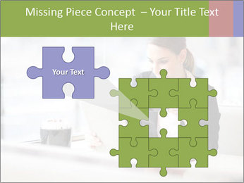 Young businesswoman PowerPoint Templates - Slide 45