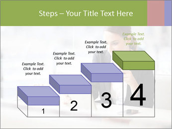 Young businesswoman PowerPoint Templates - Slide 64