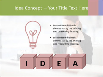 Young businesswoman PowerPoint Templates - Slide 80