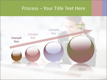Young businesswoman PowerPoint Templates - Slide 87